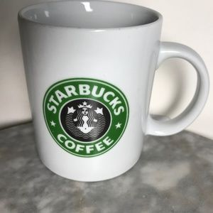 Vintage Starbucks Old Logo Cordon Bleu Coffee Mug